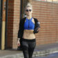 "52280173 Actress and dancer Julianne Hough shows off her flat stomach while leaving the gym in Studio City, California on January 11, 2017. Julianne and her brother Derek are kicking off their brand-new ""Move - Beyond"" tour on April 19 in Akron, Ohio. FameFlynet, Inc - Beverly Hills, CA, USA - +1 (310) 505-9876"