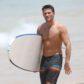 scott eastwood shirtless surfing beach