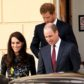 52284466 Catherine, Duchess of Cambridge, Prince William, Duke of Cambridge and Prince Harry attends a briefing to announce plans for Heads Together ahead of the 2017 Virgin Money London Marathon at ICA on January 17, 2017 in London, England. Heads Together, Charity of the Year 2017, is led by The Duke & Duchess of Cambridge and Prince Harry in partnership with leading mental health charities. FameFlynet, Inc - Beverly Hills, CA, USA - +1 (310) 505-9876 RESTRICTIONS APPLY: USA/CHINA ONLY