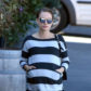 Exclusive... 52295892 Pregnant actress Natalie Portman is spotted out for breakfast at Intelligentsia Coffee in Los Angeles, California on January 27, 2017. Natalie continues her pregnancy trend of wearing horizontal striped shirts when going out in public. FameFlynet, Inc - Beverly Hills, CA, USA - +1 (310) 505-9876