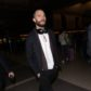AG_166221 -  - *EXCLUSIVE* Los Angeles, CA - Actor, Jamie Dornan, looks far from his famous character, Christian Grey, from Fifty Shades of Grey, as he departs LAX with a shaved head and a full beard.  AKM-GSI 29 JANUARY 2017  BYLINE MUST READ: GOME / AKM-GSI  To License These Photos, Please Contact :   Maria Buda  (917) 242-1505  mbuda@akmgsi.com  or    Mark Satter  (317) 691-9592  msatter@akmgsi.com  sales@akmgsi.com