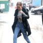 52300221 Model Gigi Hadid is seen braving the rain while out and about in New York City, New York on January 31, 2017. Over the weekend, Gigi and her sister Bella joined the many people that protested President Trump's Immigration Policy on the streets of NYC. FameFlynet, Inc - Beverly Hills, CA, USA - +1 (310) 505-9876