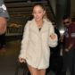 AG_166695 - ** RESTRICTIONS: ONLY UNITED STATES **  - London, UK - A leggy Ariana Grande gets a warm fan welcome as she arrives for a flight at London Heathrow airport. Ariana posed for selfies in her fur coat and heels, before going about her day of travel.  AKM-GSI 31 JANUARY 2017  To License These Photos, Please Contact :   Maria Buda  (917) 242-1505  mbuda@akmgsi.com  or    Mark Satter  (317) 691-9592  msatter@akmgsi.com  sales@akmgsi.com