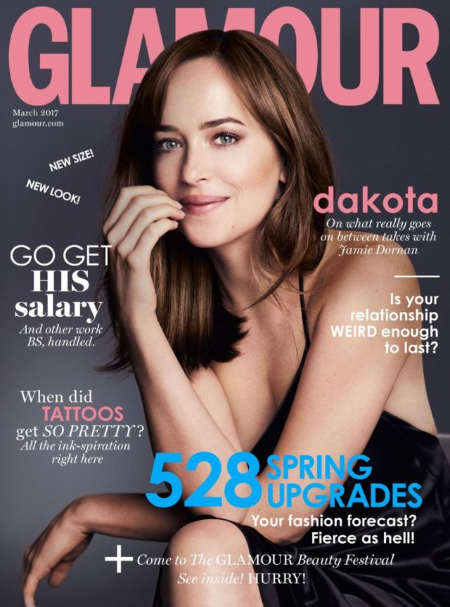 Dakota Johnson Glamour Cover