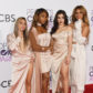 Ally Brooke, Normani Kordei, Lauren Jauregui, and Dinah Jane of Fifth Harmony 2017 people's choice awards red carpet fashion best worst dressed