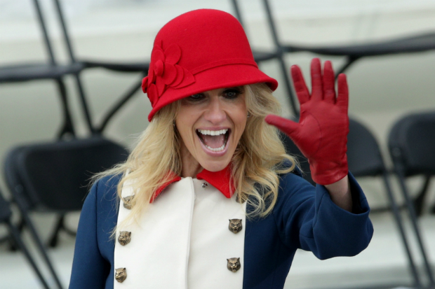 kellyanne conway outfit coat jacket inauguration