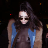Kendall Jenner Wears Star-Shaped Nipple Pasties