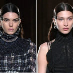 Kendall Jenner and Bella Hadid Look Almost Like Twins at Givenchy Fashion Show
