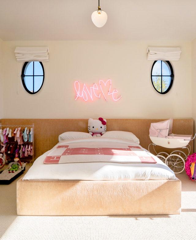 Kourtney Kardashian: Penelope Bedroom house tour