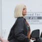 kylie jenner blonde bob wig boobs cleavage