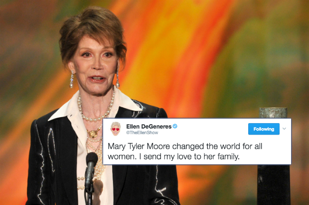 Celebrities Pay Tribute to Mary Tyler Moore