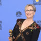 Meryl Streep accepts the Cecil B. DeMille Award at the Golden Globes