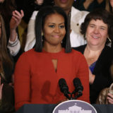 Michelle Obama Gets Teary-Eyed During Final Speech as First Lady
