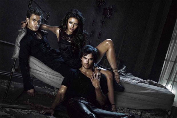 the vampire diaries nina dobrev ian somerhalder paul wesley