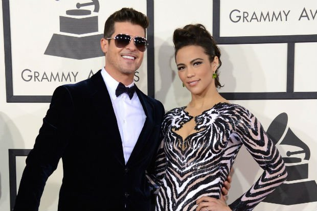 Robin Thicke hit with restraining order in custody battle with Paula Patton