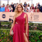 Laverne Cox on the red carpet of the 23rd annual Screen Actors Guild Awards