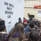 shia labeouf he will not divide us performance art project