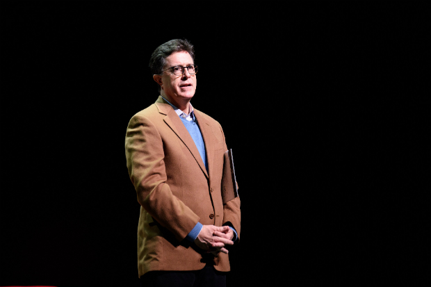Stephen Colbert on stage