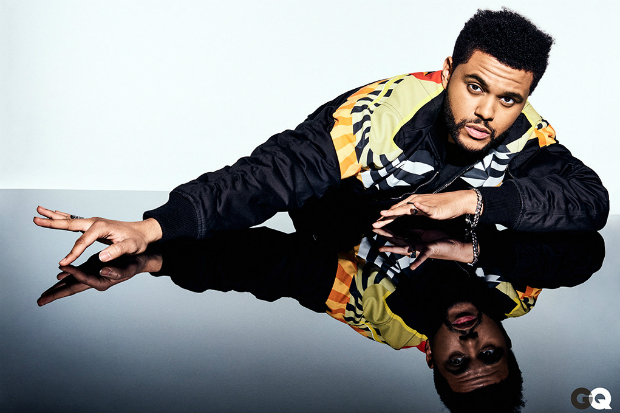 the weeknd gq