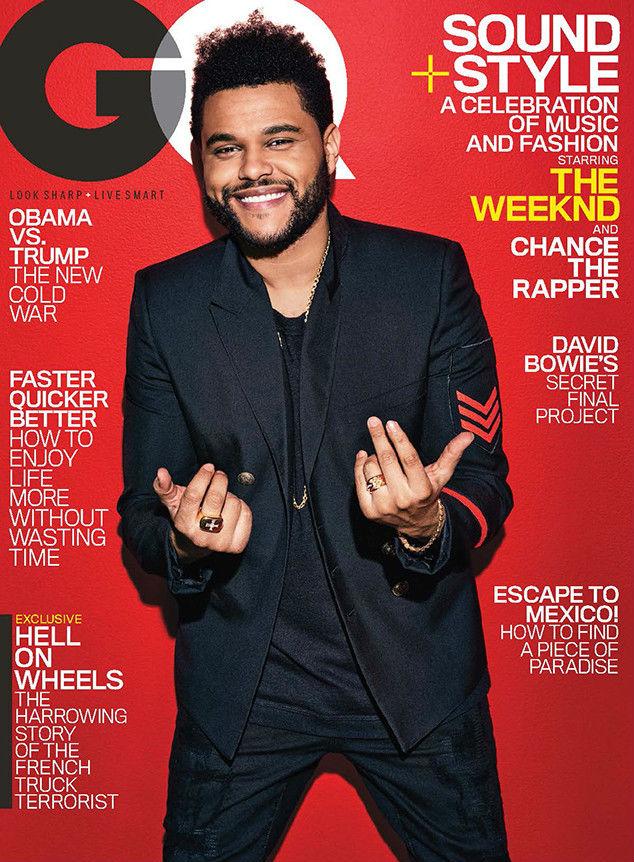 The Weeknd gq cover february 2017