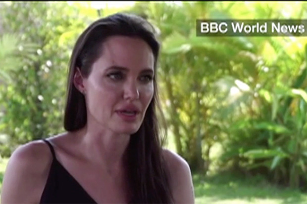 WATCH: For the First Time, Angelina Jolie Discusses Her Family Life Post-Divorce from Brad Pitt