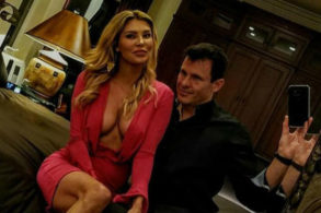 Brandi Glanville Poses Nude with Boyfriend