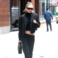 52302139 Model Gigi Hadid rocks and all black ensemble while out and about in New York City, New York on February 2, 2017. Last weekend, Gigi and her sister Bella joined the many people that protested President Trump's Immigration Policy on the streets of NYC. FameFlynet, Inc - Beverly Hills, CA, USA - +1 (310) 505-9876