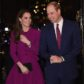 Britain's Prince William, Duke of Cambridge (R), and his wife, Catherine, Duchess of Cambridge arrive to attend a Guild of Health Writers conference in London on February 6, 2017, this year focusing on mental health, and supported by the Heads Together campaign.    a big Assembly at a primary school in London to mark Children's Mental Health Week on February 6, 2017.  / AFP / POOL / Eddie MULHOLLAND        (Photo credit should read EDDIE MULHOLLAND/AFP/Getty Images)