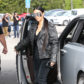 52308043 Reality stars Kim Kardashian, Kourtney Kardashian and Khloe Kardashian are spotted out for lunch at Cafe Vega in Sherman Oaks, California on February 8, 2017. Kim was sporting some futuristic sunglasses and a black leather jacket. Kim was missing her lip piercing that she debuted last month. FameFlynet, Inc - Beverly Hills, CA, USA - +1 (310) 505-9876
