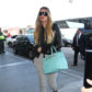 52314068 Reality star Khloe Kardashian departing on a flight at LAX Airport in Los Angeles, California on February 13, 2017. Khloe was keeping things casual rocking some grey sweats paired with a black leather jacket during her flight. FameFlynet, Inc - Beverly Hills, CA, USA - +1 (310) 505-9876