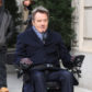 52315278 Actors Kevin Hart and Bryan Cranston are spotted filming scenes on the set of 'Untouchable' in New York City, New York on February 14, 2017. The movie is a comedic look at the relationship between a wealthy paraplegic and a unemployed man with a criminal record who's hired to help him. FameFlynet, Inc - Beverly Hills, CA, USA - +1 (310) 505-9876