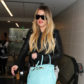 52314073 Reality star Khloe Kardashian departing on a flight at LAX Airport in Los Angeles, California on February 13, 2017. Khloe was keeping things casual rocking some grey sweats paired with a black leather jacket during her flight. FameFlynet, Inc - Beverly Hills, CA, USA - +1 (310) 505-9876