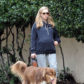 52321361 Pregnant actress Amanda Seyfried is spotted out for a walk with her dog on February 21, 2017 in Los Angeles, California. Amanda is expecting her first child with her fiance Thomas Sadoski. FameFlynet, Inc - Beverly Hills, CA, USA - +1 (310) 505-9876