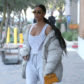 52322379 Reality stars Kim Kardashian, her sister Kourtney, Kourtney's daughter Penelope and their mother Kris Jenner are spotted out for lunch in Calabasas, California on February 22, 2017. The famous family was filming their reality show 'Keeping Up With The Kardashian's'. FameFlynet, Inc - Beverly Hills, CA, USA - +1 (310) 505-9876
