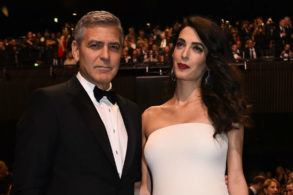 George & Amal Clooney Are Picture Perfect