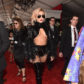 Lady Gaga on the red carpet at the 59th annual Grammy Awards