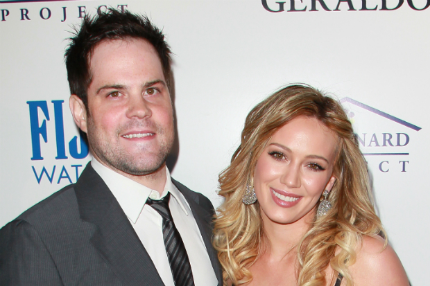Hilary Duff ex husband Mike Comrie