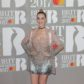Katy Perry on the red carpet of the 2017 Brit Awards