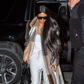 Kim Kardashian arrival New York Fashion Week