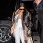 Kim Kardashian arrival New York Fashion Week