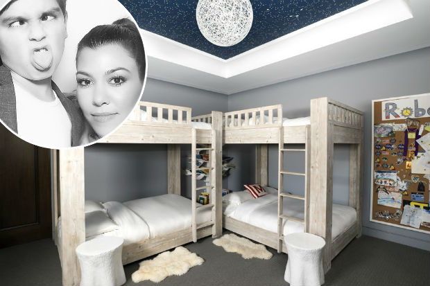 Kourtney Kardashian mason room
