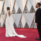 John Legend and Chrissy Teigen on the red carpet of the 2017 Academy Awards