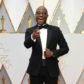 Barry Jenkins on the red carpet of the 2017 Academy Awards