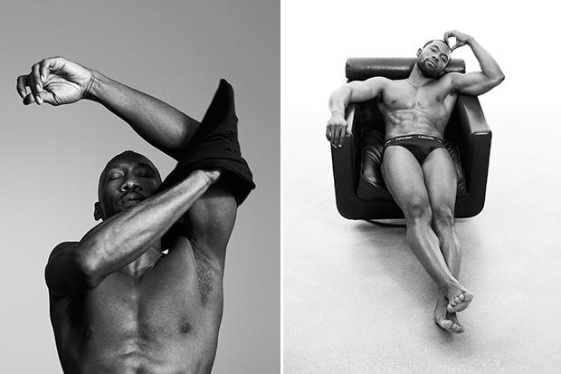 3ceb8d06e6 Moonlight Cast Models for Calvin Klein Underwear