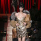 bella hadid moschino garbage trash fashion runway show milan fashion week