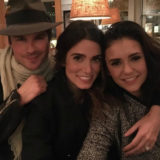 Nina Dobrev and Nikki Reed Aren't Fighting Over Ian Somerhalder