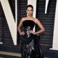 Sara Sampaio arrives at the 2017 Vanity Fair Oscar Party