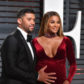 Russell Wilson and Ciara at the 2017 Vanity Fair Oscar Party