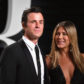 Justin Theroux and Jennifer Aniston arrives at the 2017 Vanity Fair Oscar Party