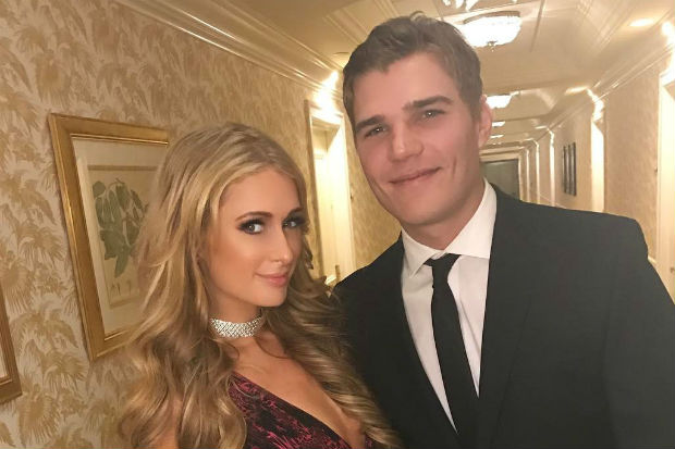 Paris Hilton's Boyfriend Got a Tattoo of Her Name, and It's Really… Something